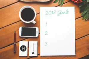 SMART Goal setting for 2018