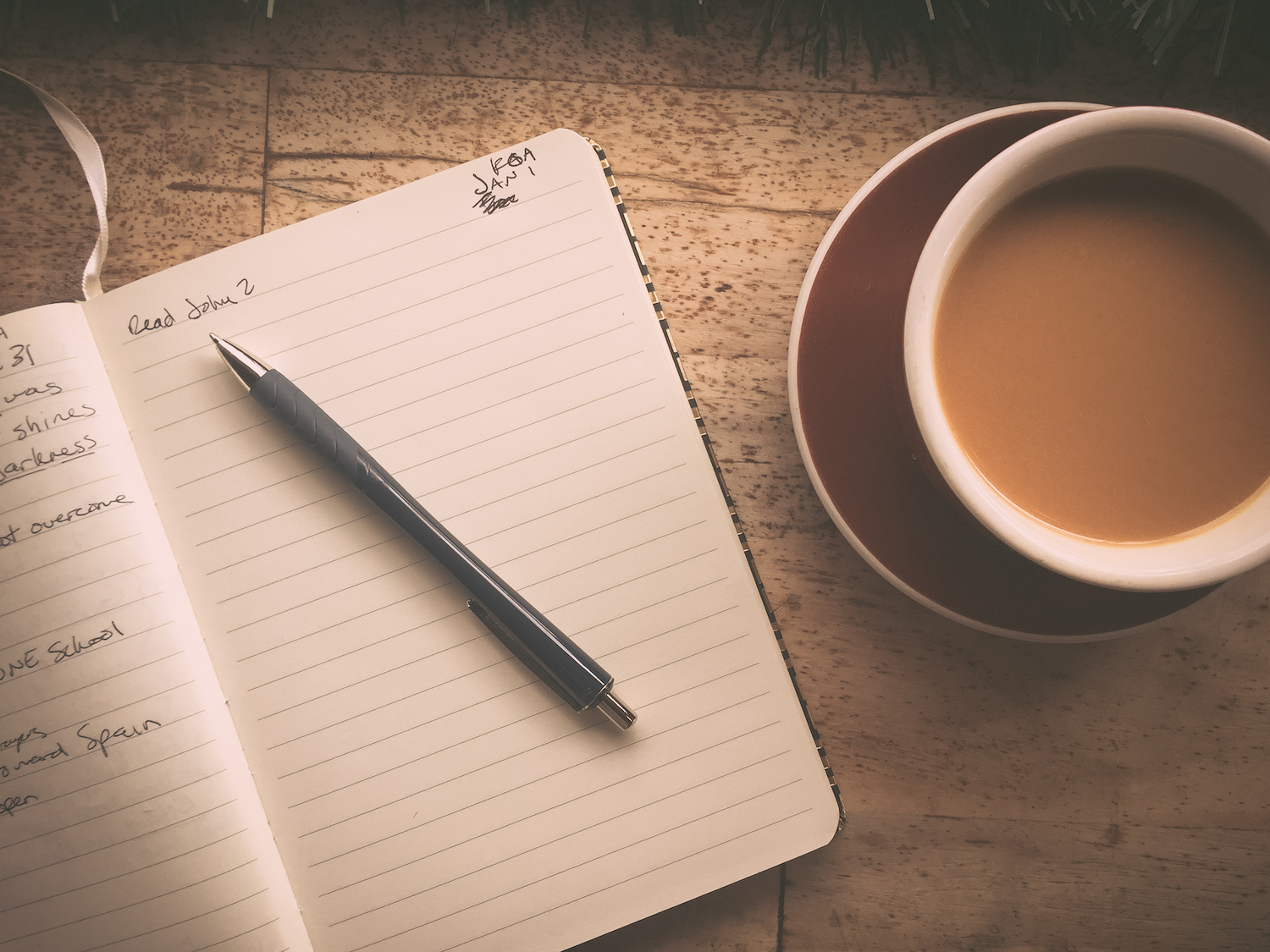 Journaling—simple tips to get you started