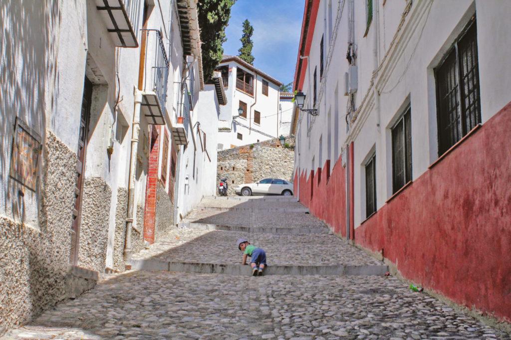 Maddox in Granada Spain