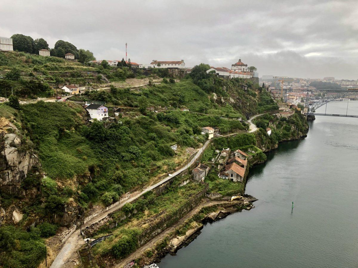 Jogging in Porto, Portugal