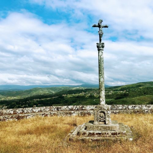 Crosses dot the hills of Galicia, a land rich in christian history